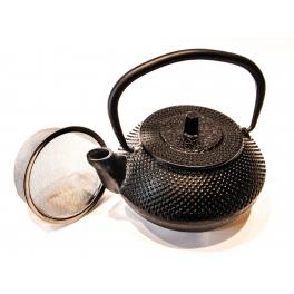 Cast Iron Teapot with Black Points - 0,3 L.
